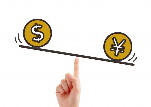 米ドルと日本円のイメージ