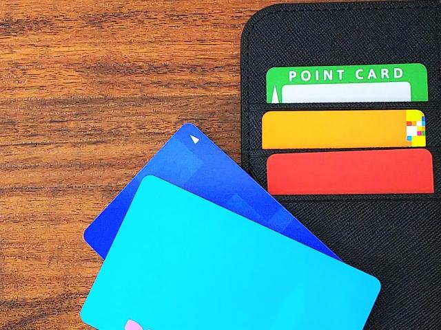 ポイントカードとケース