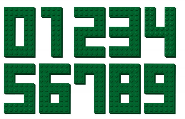 ブロックの数字