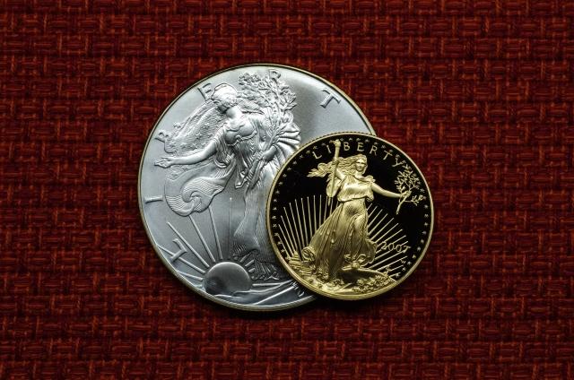 アメリカ イーグル金貨 イーグル銀貨