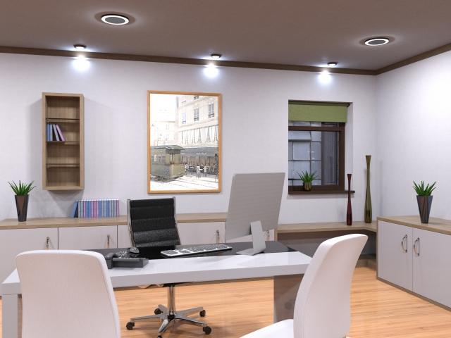 シンプルなオフィス風景2